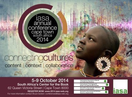 IASA 2014 conference invitation